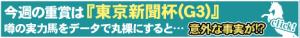 東京新聞杯①